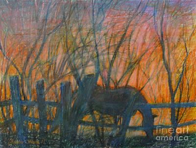 Twilight Silhouette  Poster by Stephanie  Skeem