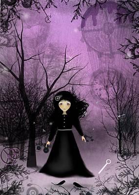 Twilight Time Poster by Charlene Zatloukal