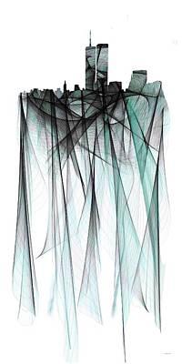 Twin Towers Poster by Marlene Watson