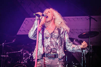 Twisted Sister, Dee Snider Poster by Vedran Levi