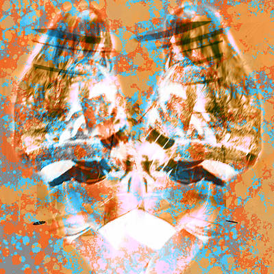 Two Dancing Girls Poster by Toppart Sweden