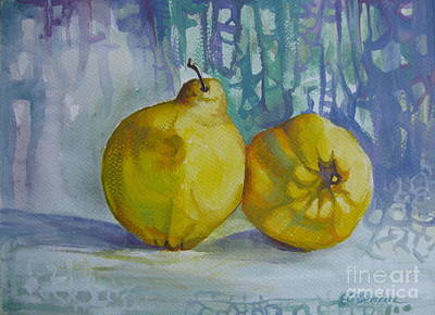 Two Quinces Poster by Elena Oleniuc