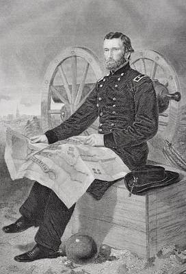 Ulysses S. Grant 1822-1885. Commmander Poster by Vintage Design Pics