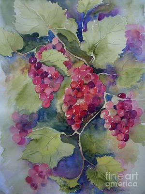 Under The Arbor Poster by Sandra Strohschein