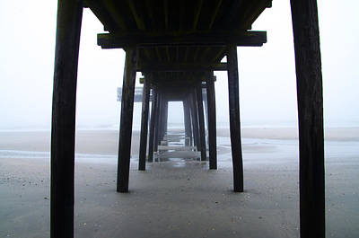 Under The Boardwalk Poster by Bill Cannon