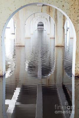 Under The Bridge Poster by Linda Lees