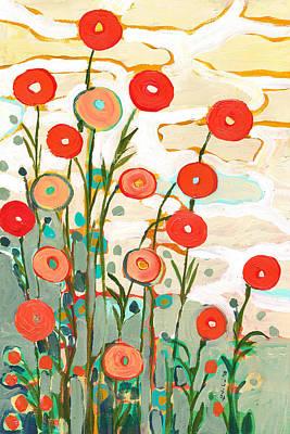 Under The Desert Sky Poster by Jennifer Lommers