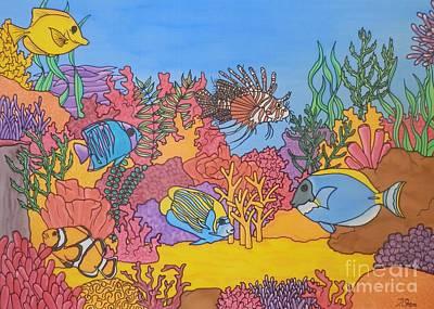 Undersea Wonderland Poster by Joanne Oram