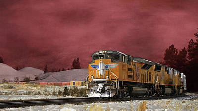 Union Pacific 8533 Poster by Donna Kennedy