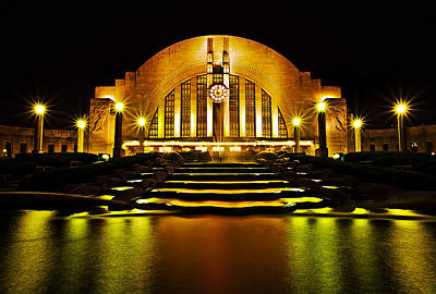 Union Terminal Poster by Keith Allen