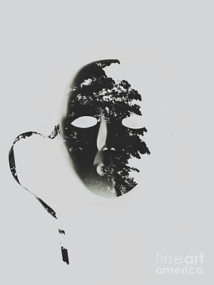 Unmasking In Silence Poster by Jorgo Photography - Wall Art Gallery