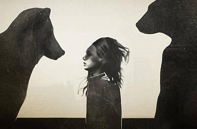 Unusual Encounter Poster by Ruben Ireland