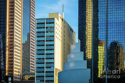Urban Dallas Poster by Inge Johnsson