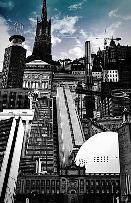 Urban Stockholm Poster by Nicklas Gustafsson
