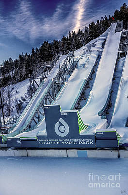 Utah Olympic Park Poster by David Millenheft
