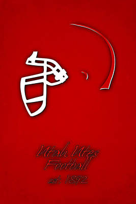 Utah Utes Poster by Joe Hamilton