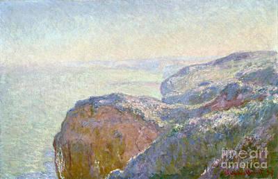 Val Saint Nicolas - Near Dieppe Morning Poster by Claude Monet