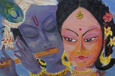 Valentine Divine Poster by Guntury Venkateswararao