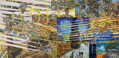 Van Gogh Mural Il Poster by David Bridburg