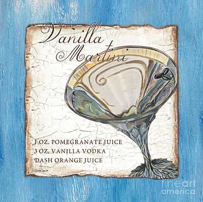 Vanilla Martini Poster by Debbie DeWitt
