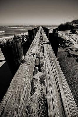 Vanishing Point Folly Beach Poster by Dustin K Ryan