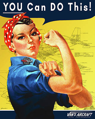 Van's Aircraft Motivational Poster by Hangar B Productions