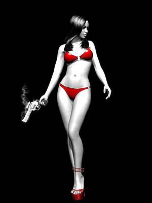 Vengeful Mood Poster by Alexander Butler