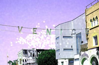 Venice Beach Magic Poster by Fraida Gutovich