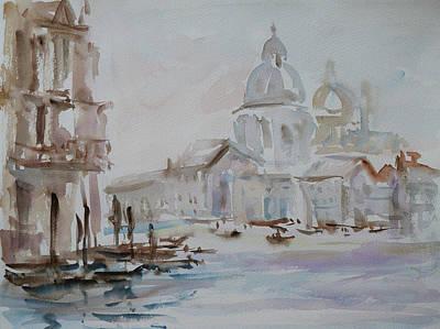 Venice Impression Vi Poster by Xueling Zou