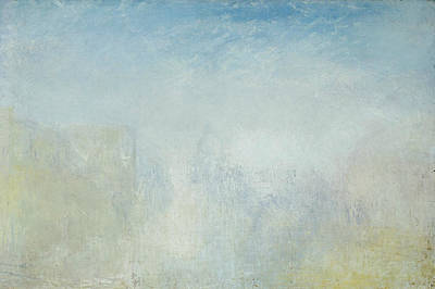 Venice With The Salute  Poster by Joseph Mallord William Turner