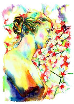 Venus De Milo Poster by Christy  Freeman