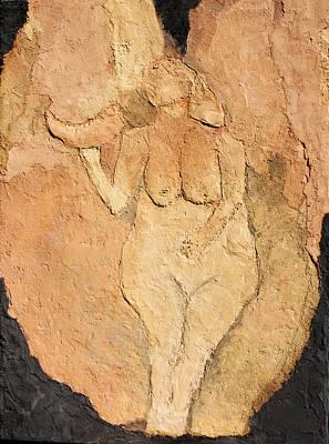Venus Of Laussel Poster by Lisa Baack