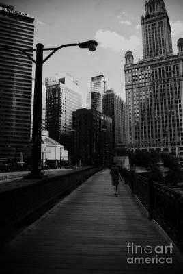 Vertigo Chicago Poster by Frank J Casella