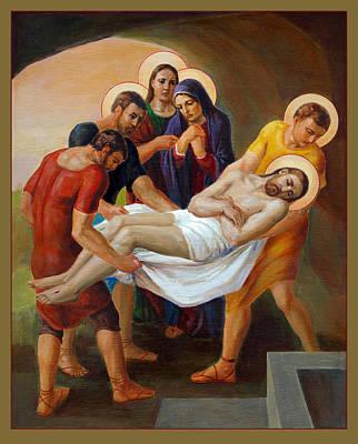 Via Dolorosa - The Way Of The Cross - 14 Poster by Svitozar Nenyuk
