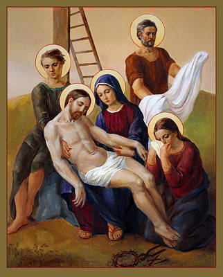 Via Dolorosa - Way Of The Cross - 13 Poster by Svitozar Nenyuk