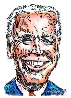Vice President Joe Biden Poster by Robert Yaeger