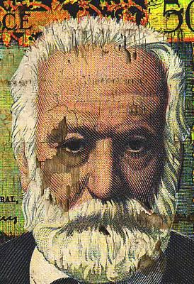Victor Hugo-cinq Cents Francs Large Poster by Otis Porritt