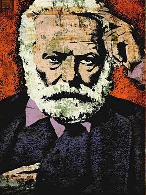 Victor Hugo Poster by Otis Porritt