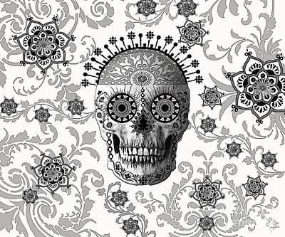 Victorian Bones Poster by Christopher Beikmann
