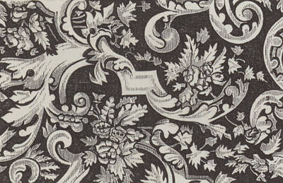 Victorian Pattern Poster by English School