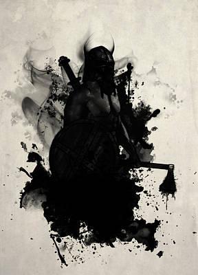 Viking Poster by Nicklas Gustafsson