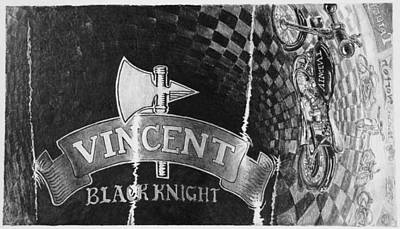 Vincent Poster by Norman Bean