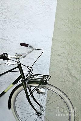 Vintage Bicycle Poster by Carlos Caetano