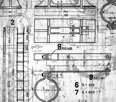 Vintage Blueprints Poster by Yali Shi