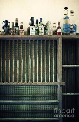 Vintage Bottles Poster by Svetlana Sewell