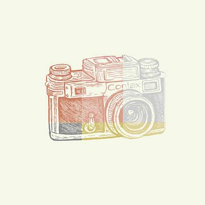 Vintage Camera 2 Poster by Brandi Fitzgerald