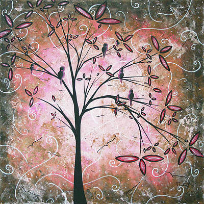 Vintage Couture By Madart Poster by Megan Duncanson