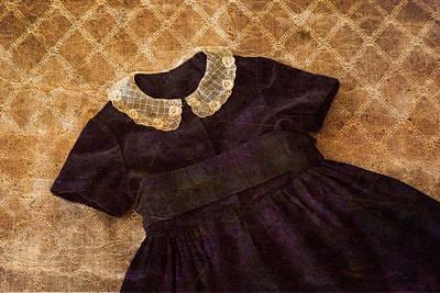 Vintage Dress Poster by Erin Cadigan