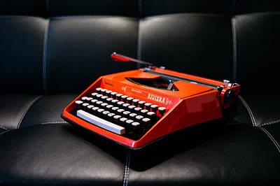 Vintage Rivera Typewriter Poster by Mountain Dreams