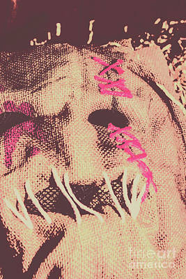 Vintage Scarecrow Mask Poster by Jorgo Photography - Wall Art Gallery